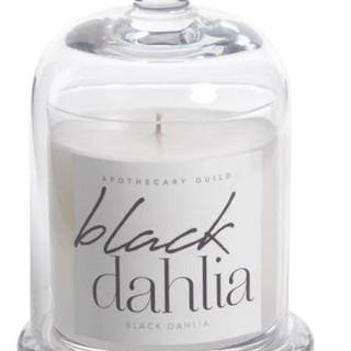Black Dahlia candle