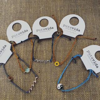 Pura Vida adjustable pull tie bracelets