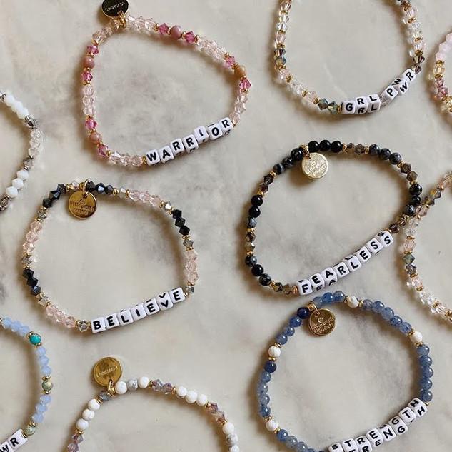 Little Words Project bracelets
