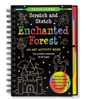 Scratch and sketch - trace along books