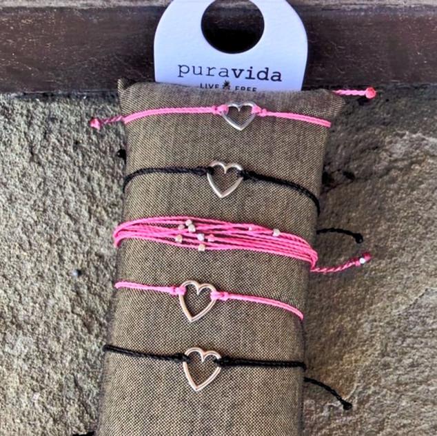 Pura Vida rope tie bracelets