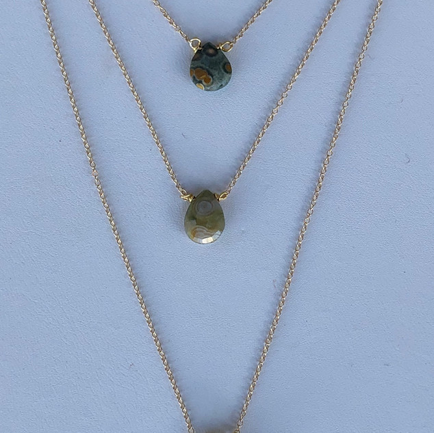 Ocean jasper necklaces