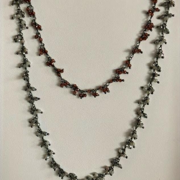 Semi precious stone necklaces