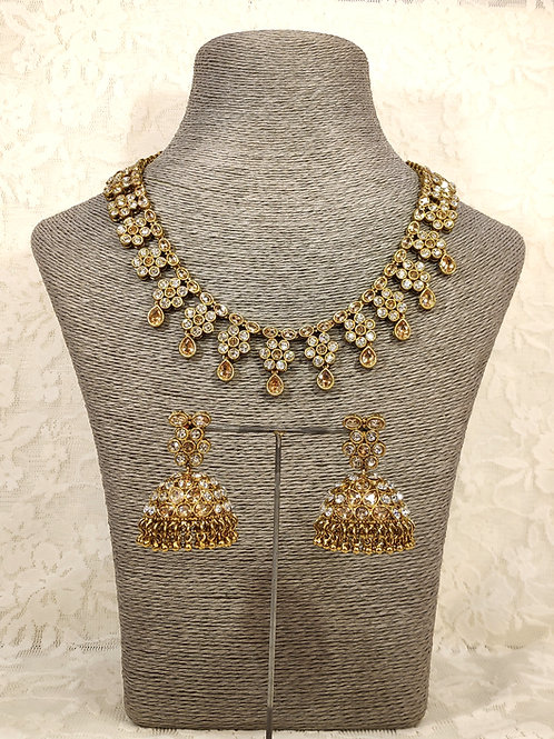 Small Collar Necklace Set