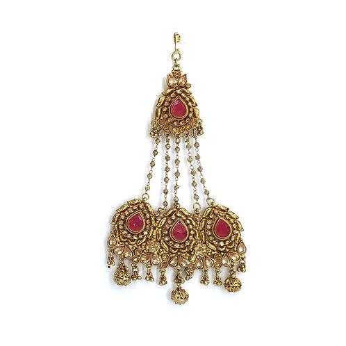 Jhumar/Pasa - Poppy collection