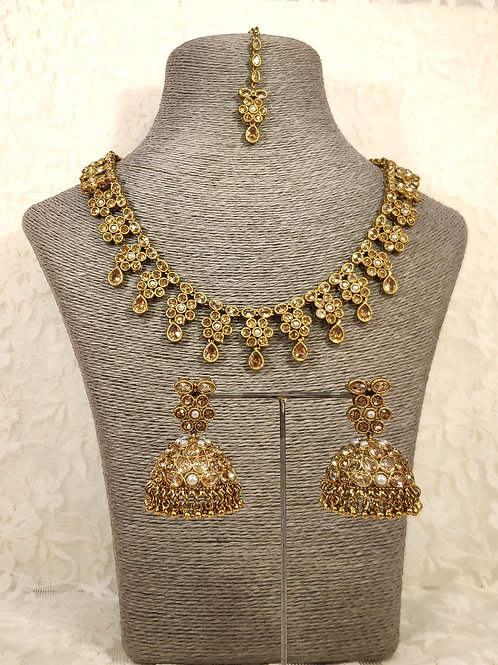 Small Collar Antic Necklace Set
