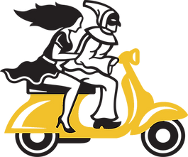Pupatella_Scooter_Graphic_YellowScooter.