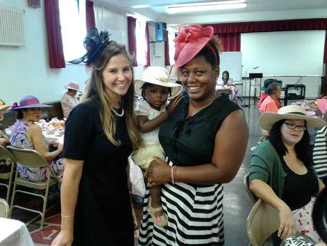 Deaconess Rojas at Redeemer WRISTS High Tea