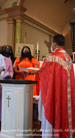 Holy Baptism on the Festival of Pentecost