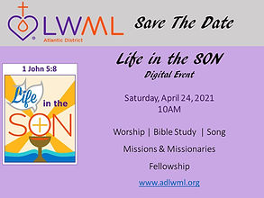 Save the Date - Mission Festival April 2