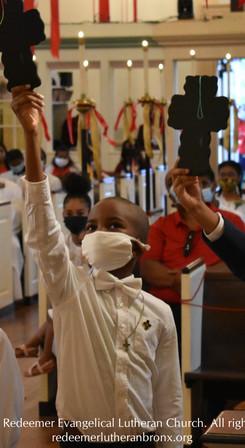 Pentecost Vigil 2021   CHEEKS First Communion