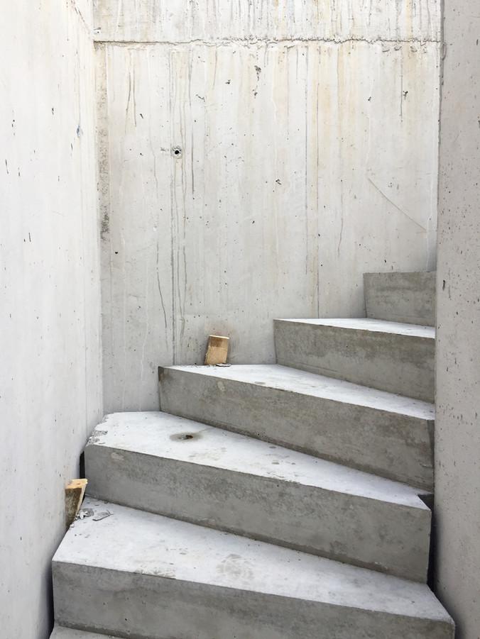 Treppe Haus Mettlenhölzli