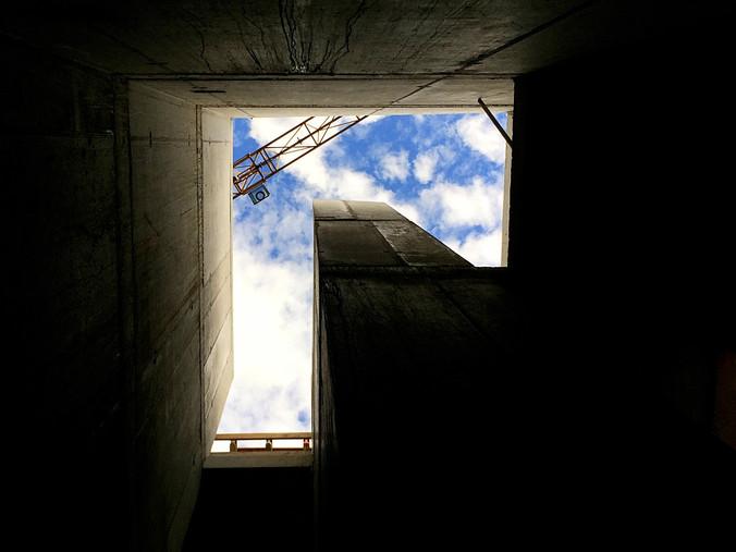 Treppenauge Haus Mettlenhölzli