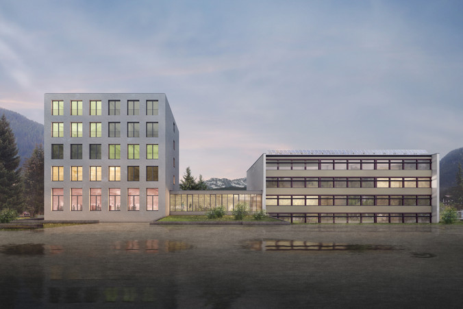 Erweiterung Schulanlage Bünda, Davos