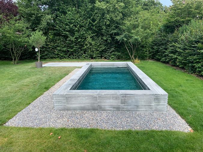 Haus Mannenried, Neubau Schwimmbad