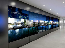 Video Wall - full length wall dispaly