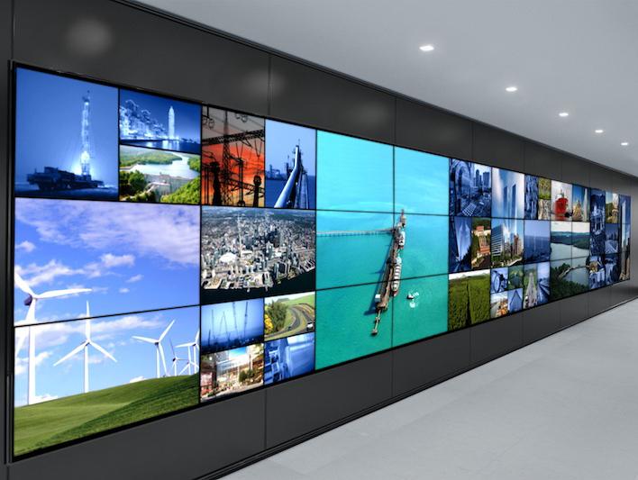 Video Wall - dynamic-fluid-display