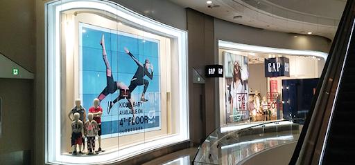 video wall- shopping mall