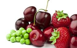 fruta,-chicharos,-cerezas,-fresas-222308