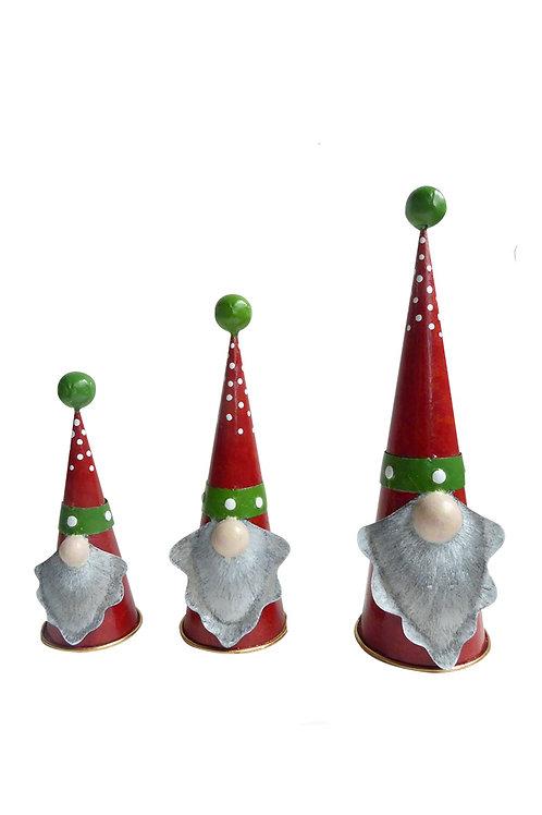Set kerstmannen