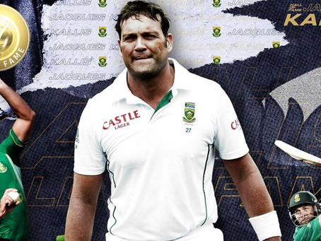 Kallis inducted into ICC Hall of Fame