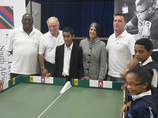 Table Cricket launched at Agape School