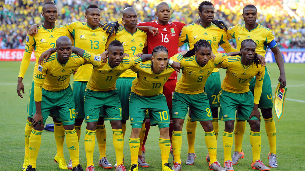 Bafana starting XI vs Mexico