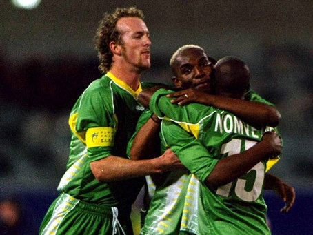 South Africa's Road to the 2000 Olympics