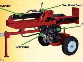 Hydraulic Products for Log Splitters