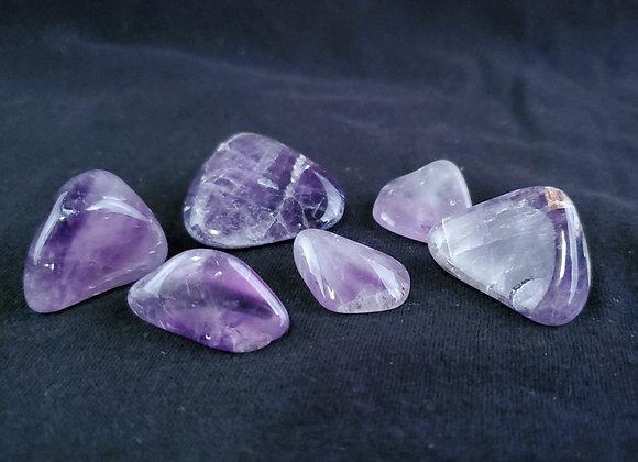 Polished Amethyst Crystals