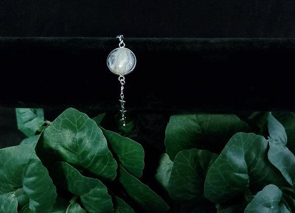 Star Bracelet-Lace Agate