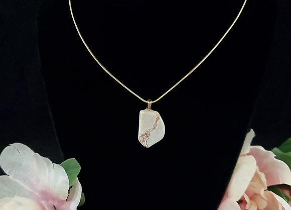 Polished Rock Necklace-Keswick