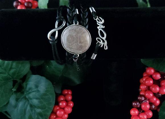 Love Bracelet- Coral