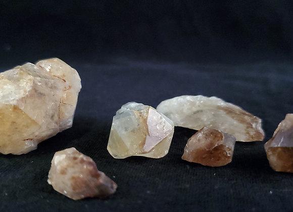 Raw Citrine Crystals