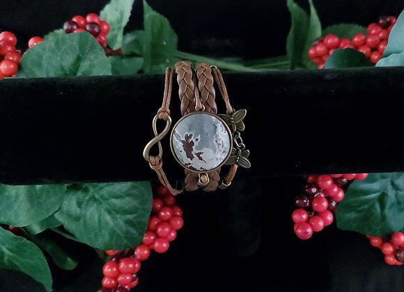 Butterfly Bracelet-Sonoran Dendritic