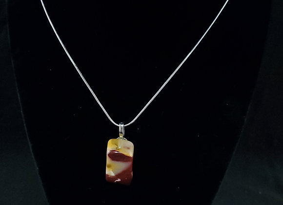 Polished Rock Necklace-Mookaite