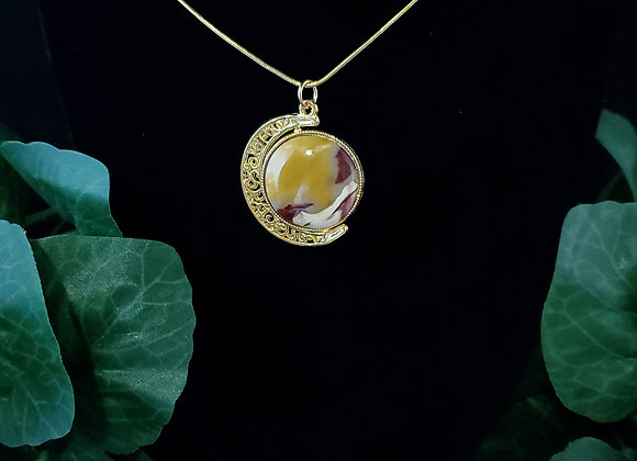 Double-Sided Necklace- Jasper
