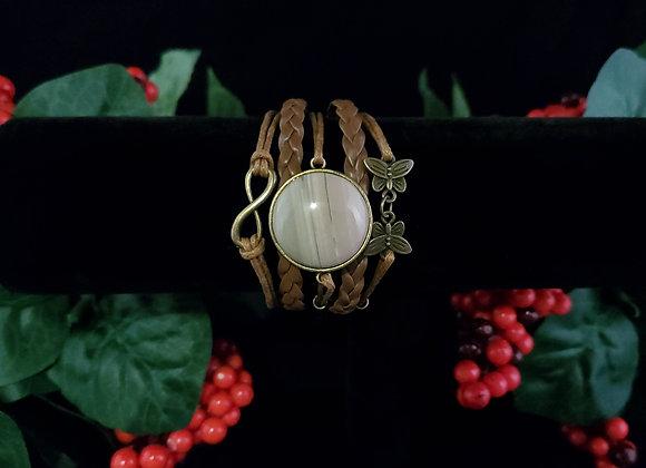 Butterfly Bracelet-Imperial Jasper