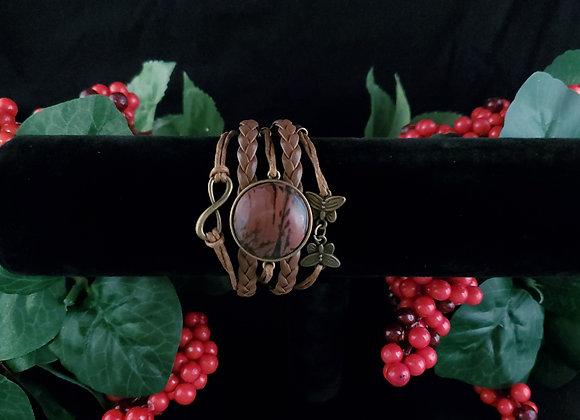 Butterfly Bracelet- Indian Paint Stone