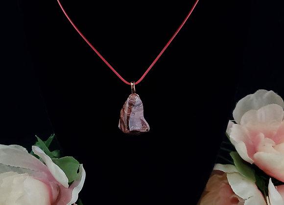 Polished Rock Necklace-Jasper