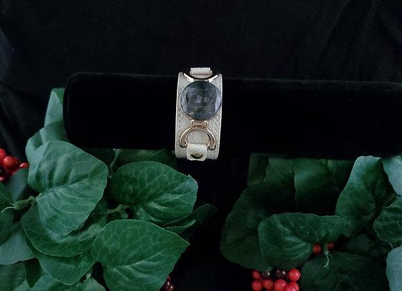 Leather Bracelet-Agate/Jasper