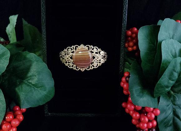Fancy Metal Bracelet-Dolomite