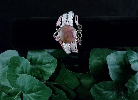 Love Bracelet- Flower of Peach