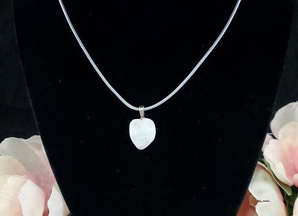 Polished Rock Necklace-Moonstone