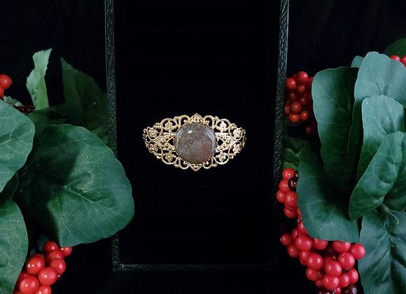 Fancy Metal Bracelet-Agate