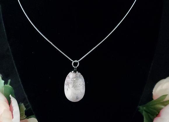 Polished Rock Necklace-Granite