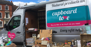 Mobile plastic-free shopping in the Suffolk area