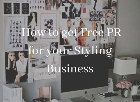 How to Get Free PR for your Styling Business
