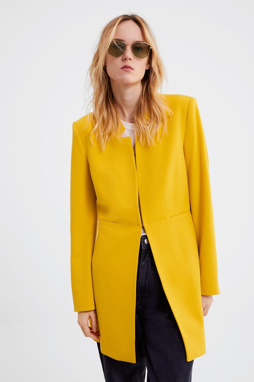 Zara Marigold Jacket