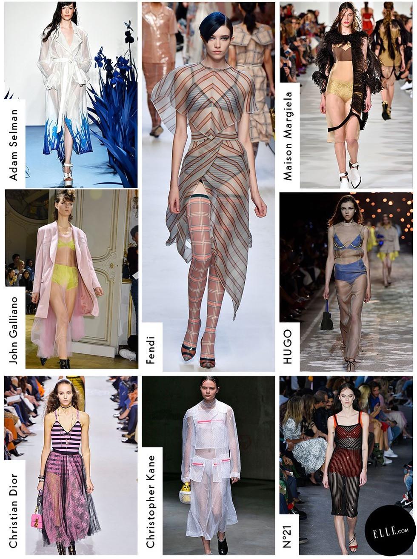 Sheer look - Elle.com
